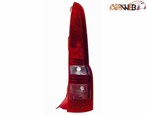 TOP QUALITY FARO-FANALE POSTERIORE SX FIAT PANDA 2003-2012 CORPO NERO